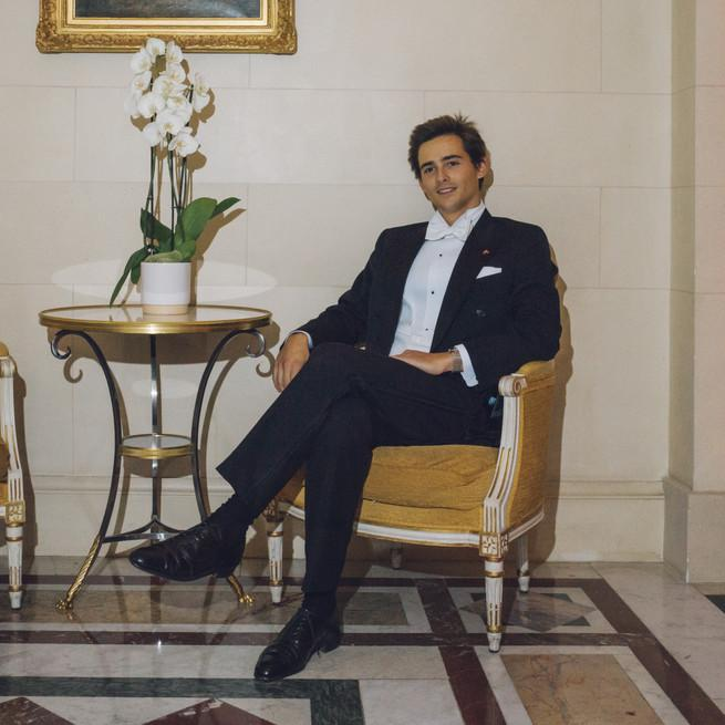 Le prince Mirko au Bal des Débutantes