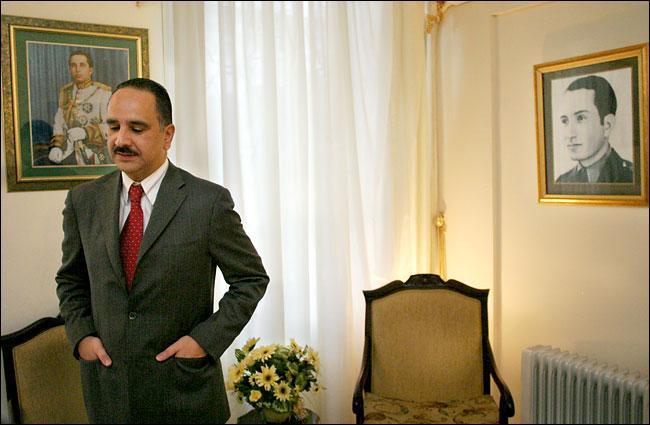 Le prince Sharif Ali Ben Al-Hussein