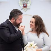 Mariage civil du grand-duc Georges Romanov et de Rebecca Bettarini @DavidNivière