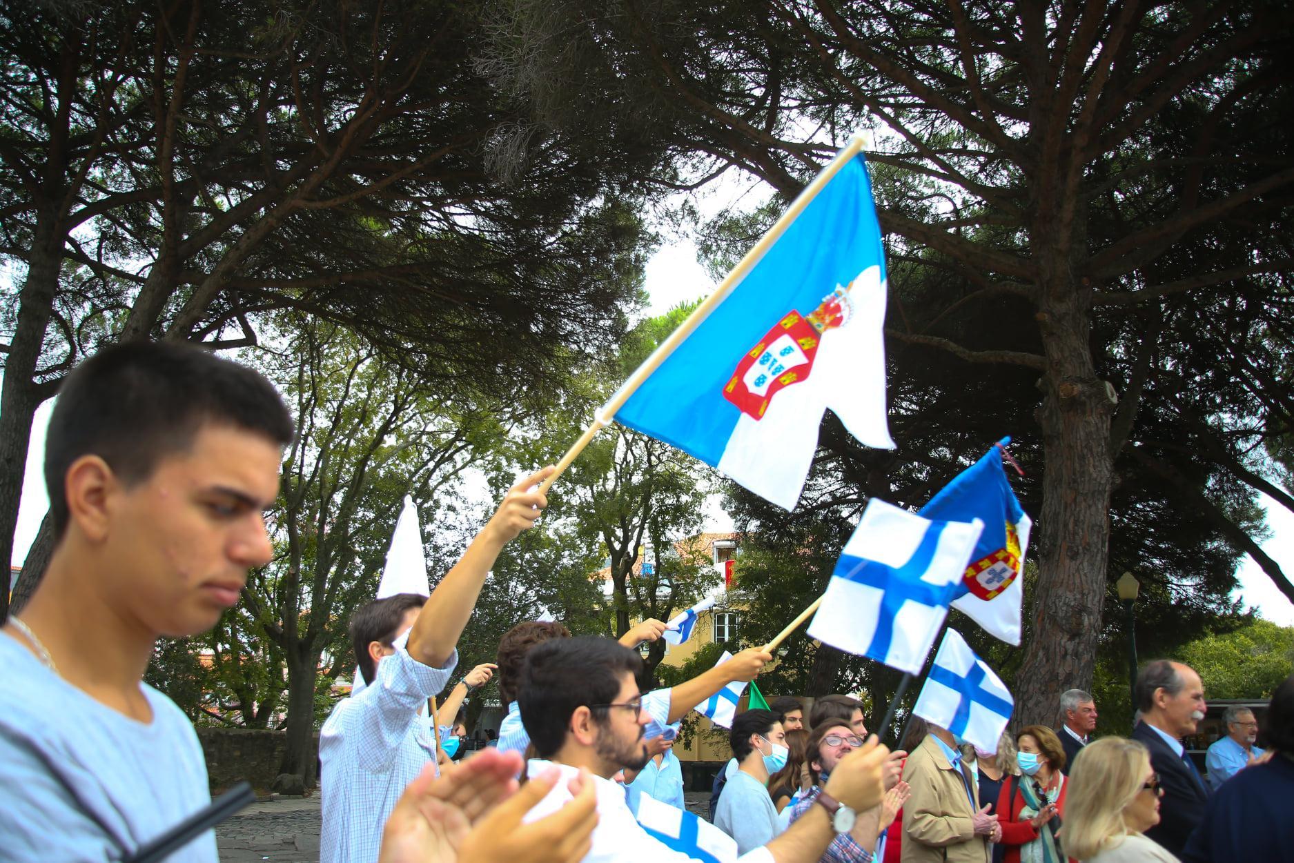 Monarchistes portugais le 5 octobre 2021
