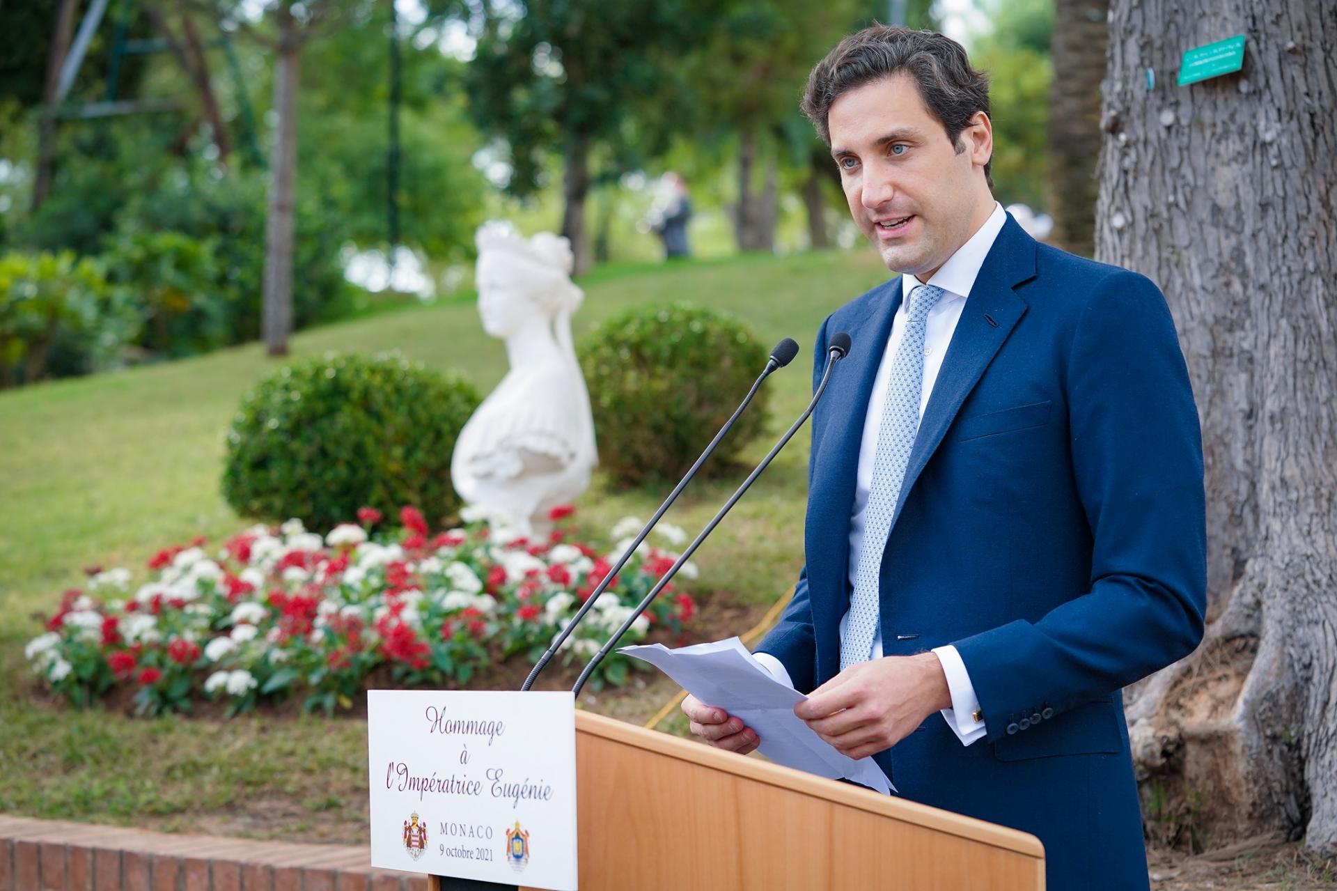 prince Jean-Christophe Napoléon à Monaco Michael Alesi/Direction de la Communication