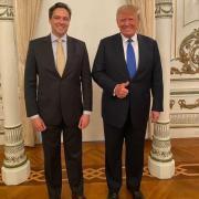Luiz-Philippe d'Orléans-Bragance et Donald Trump
