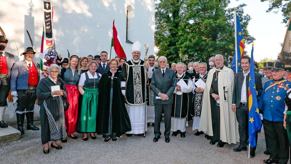 Cérémonie d'hommage à Otto de Habsbourg en présence du prince Franz de Bavière Photo©AndreaJaksch