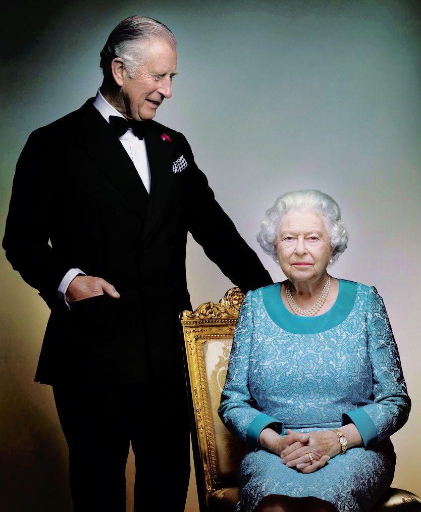 Prince Charles et Elizabeth II