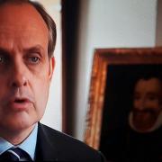 Le comte de Paris interviewé par France 2