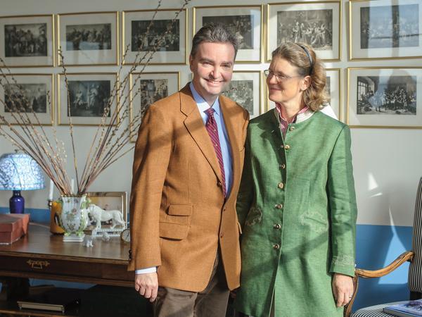 Georg et Elika d'Oldenburg