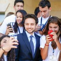 Prince héritier Hussein, l'avenir de la jeunesse