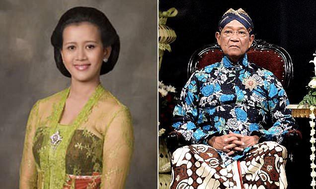Hamengkubuwono X et sa fille aînée