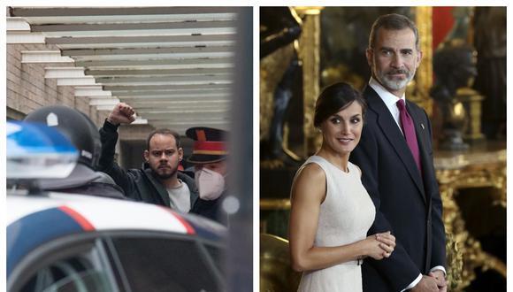 Pablo Hasél contre la famille royale