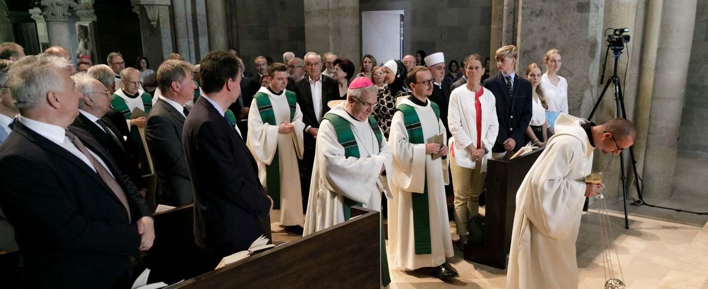 l'archevêché de Pannonhalma  où a eu lieu une cérémonie d'hommage  Photo@DanielViktoria