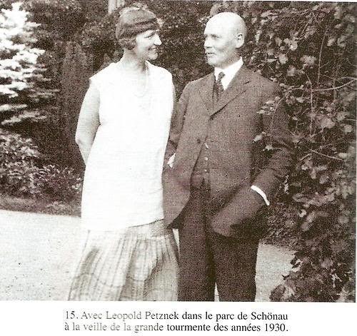 « Erzsi »  et Léopold Petzner