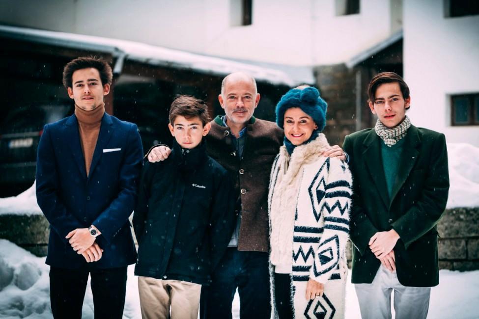 Mirko en famille