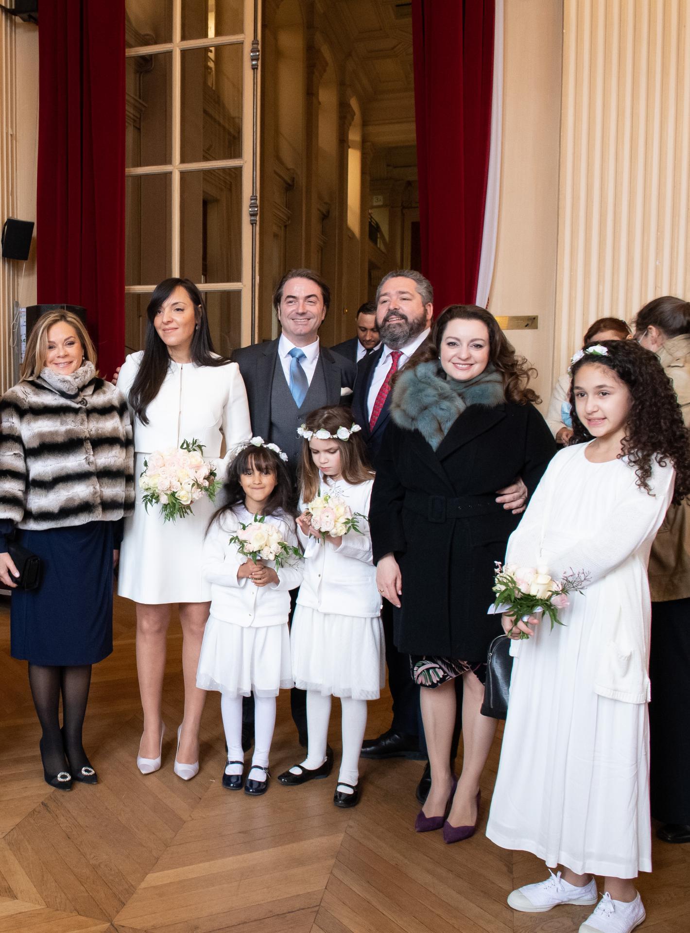 Princesse Murat, Yasmine, Joachim, Grand Duc Georges de Russie, Rebecca Bettarini, Angelina Bouglione. Photos Maison royale droits réservés FDN