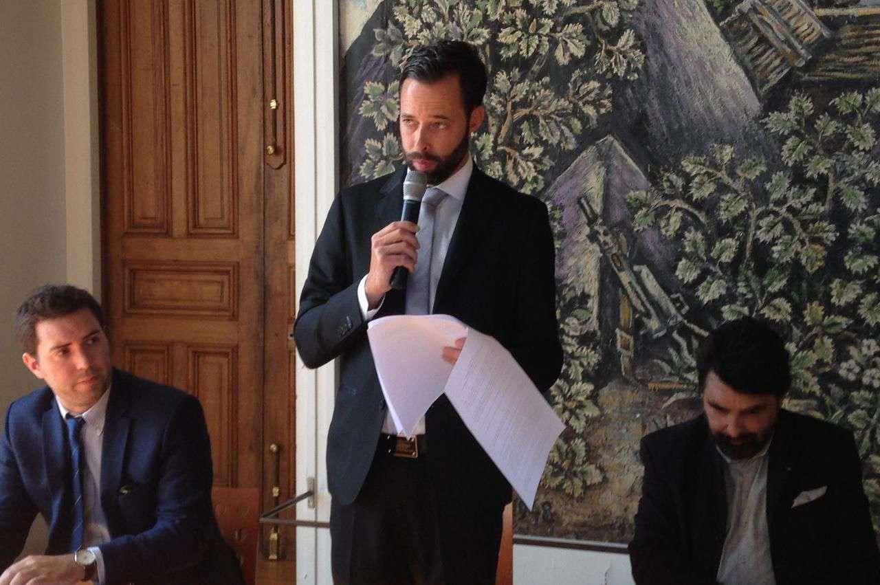 Julien Morvan, Nicolas Doyen et Philippe Delorme @LeParisien