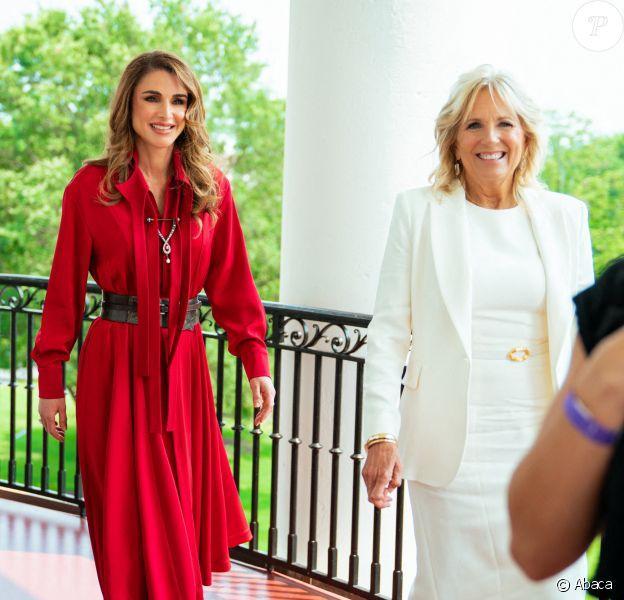 Rania de Jordanie et Jill Biden