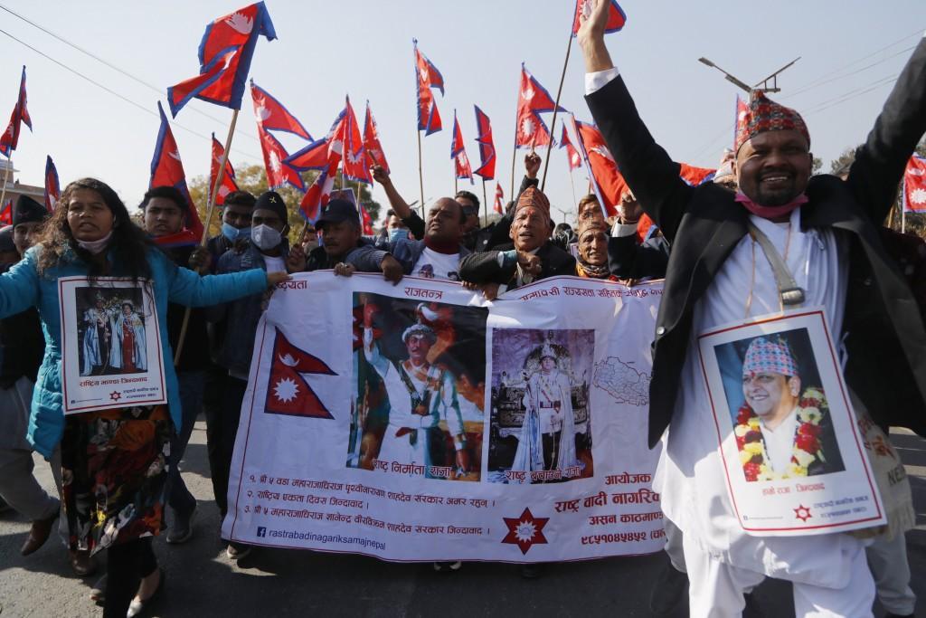 Royalistes népalais
