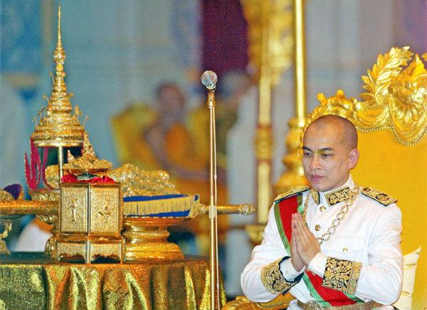 Le roi Norodom Sihamoni