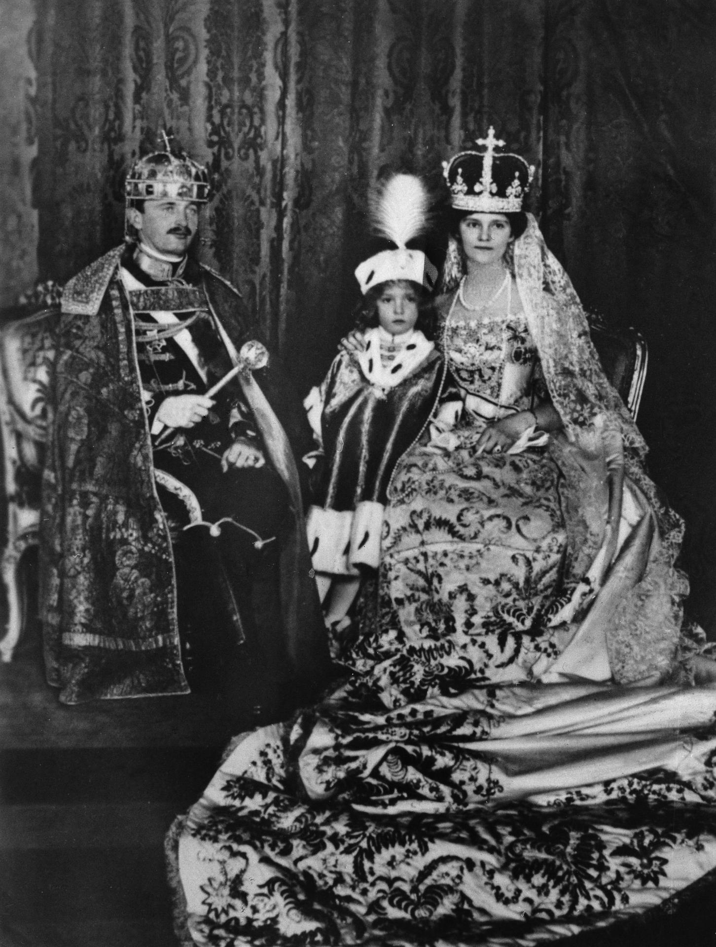 Charles Ier (IV , Zita de Bourbon-Parme et Otto de Habsbourg-Lorraine