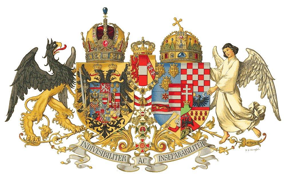 Blason de l'empire austro-hongrois