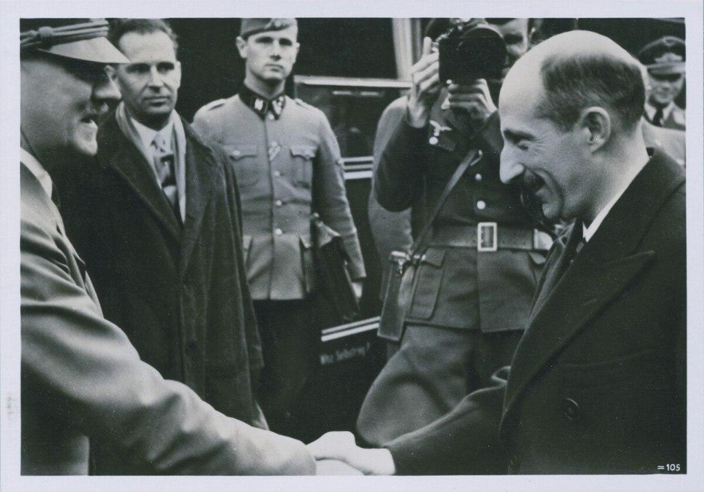 Adolf Hitler et Boris III