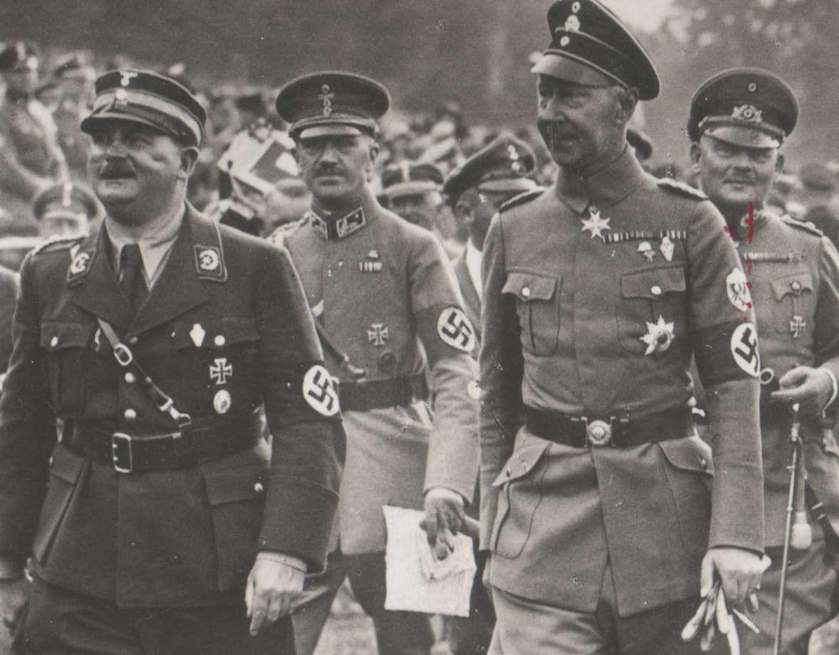 Ernst Röhm et Guillaume de Prusse