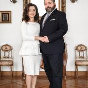 Victoria et le Grand-duc George Romanov
