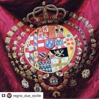 Blason de la famille royale des deux siciles