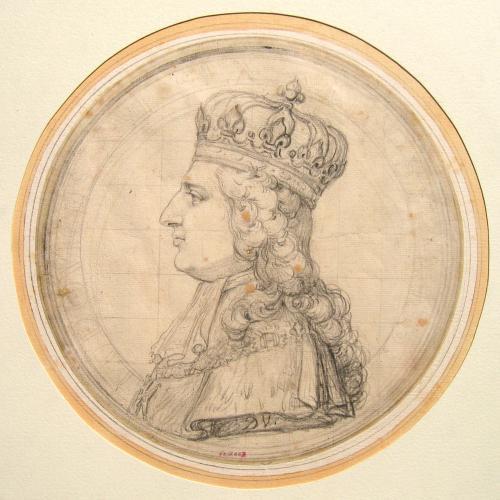 Louis XVI avec la couronne de France