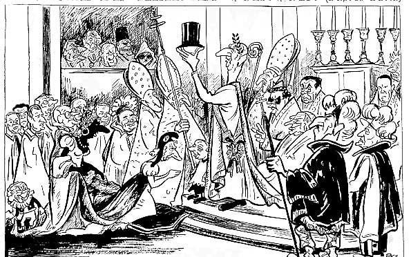 Caricature de de gaulle restaurant la monarchie