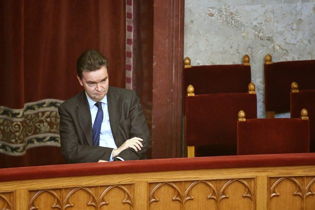 Georg de Habsbourg-Lorraine au parlement