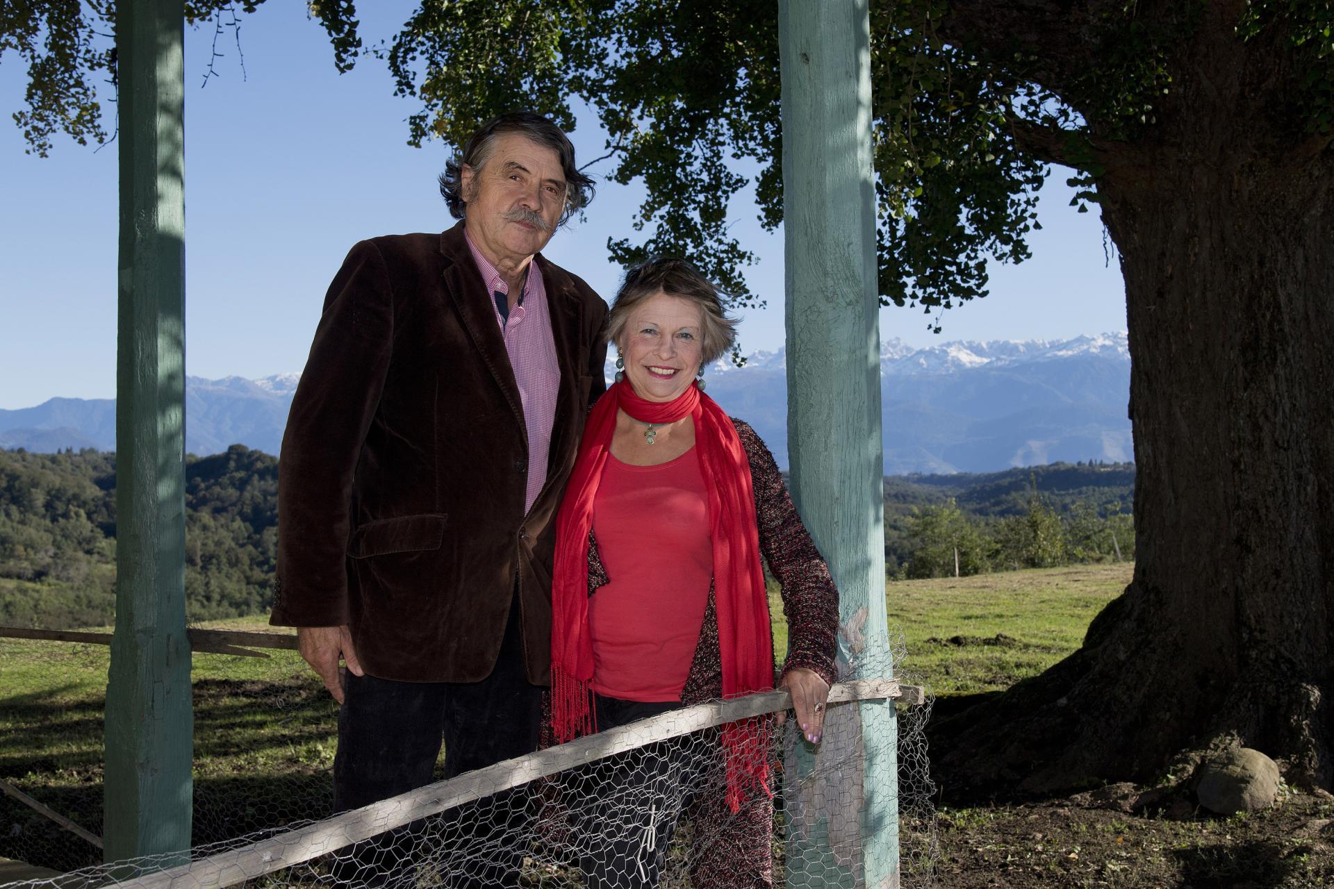 Alain et Véronique Murat . Photo Point de Vue Magazine