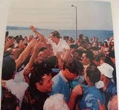 Retour du roi Constantin en 1993