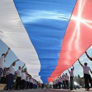 Drapeau russe ria novostialeksandr krjazhev