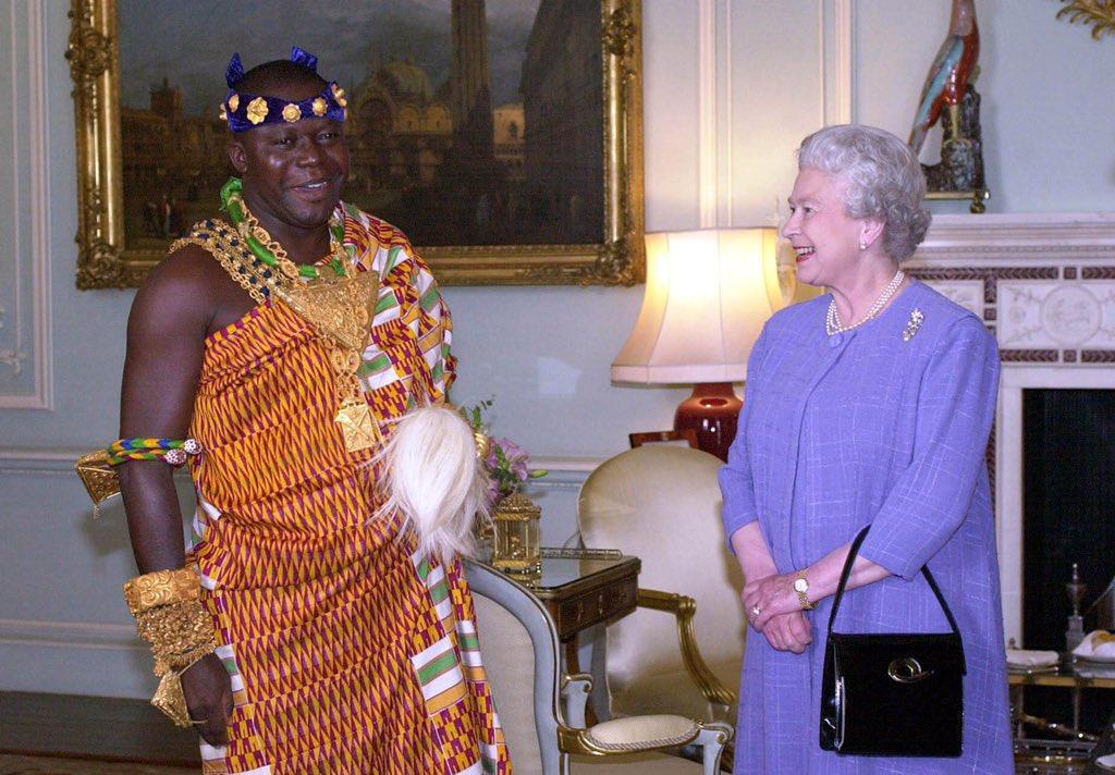 Omtufuo Osei Tutu II et Elizabeth II