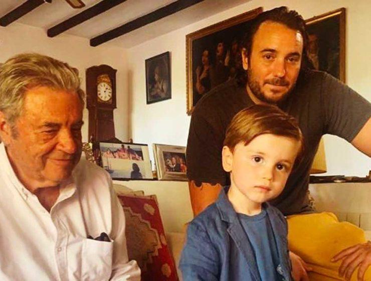 Trois générations actuelles de Séville.