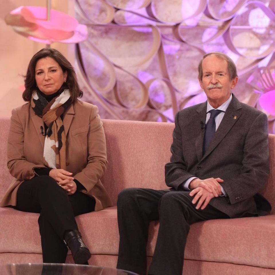 Dom Duarte et son épouse durant l'émission