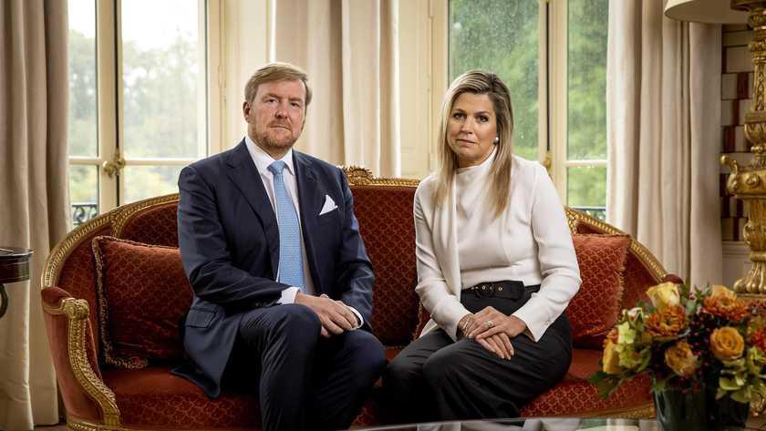 Le roi Willem-Alexander et la reine Maxima