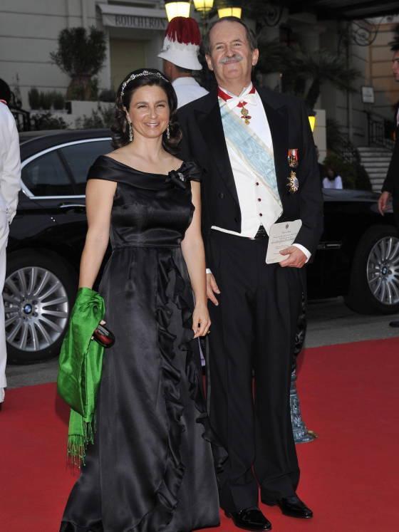 Dom Duarte Pio et son épouse Pphoto@efe