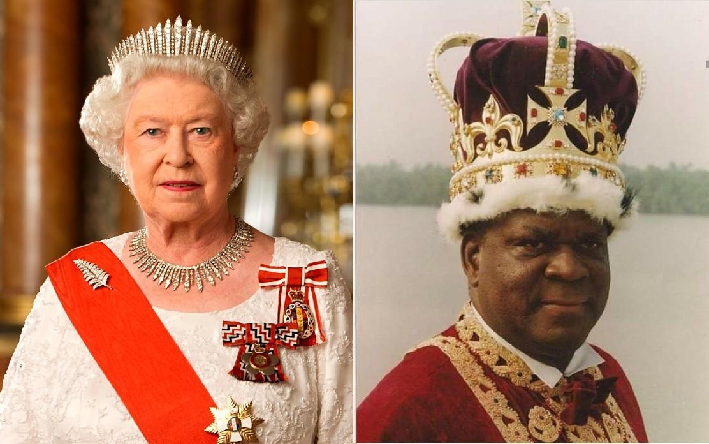 Elizabeth II et Edidem Ekpo Okon Abasi Otu v