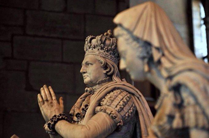 Louis XVI et Marie-Antoinette à  Saint-Denis