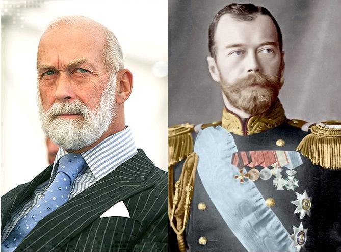 Michael de Kent et sa ressemblance avec Nicolas II