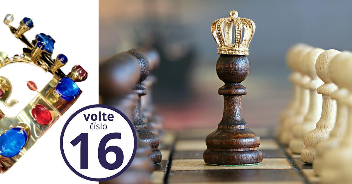 Affiche électorale de la Couronne tchèque
