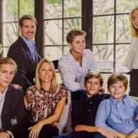Famille du prince paul de grece