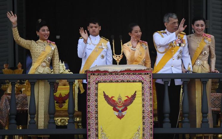 Famille royale de Thailande