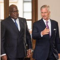 Felix Tshisekedi et le roi des belges
