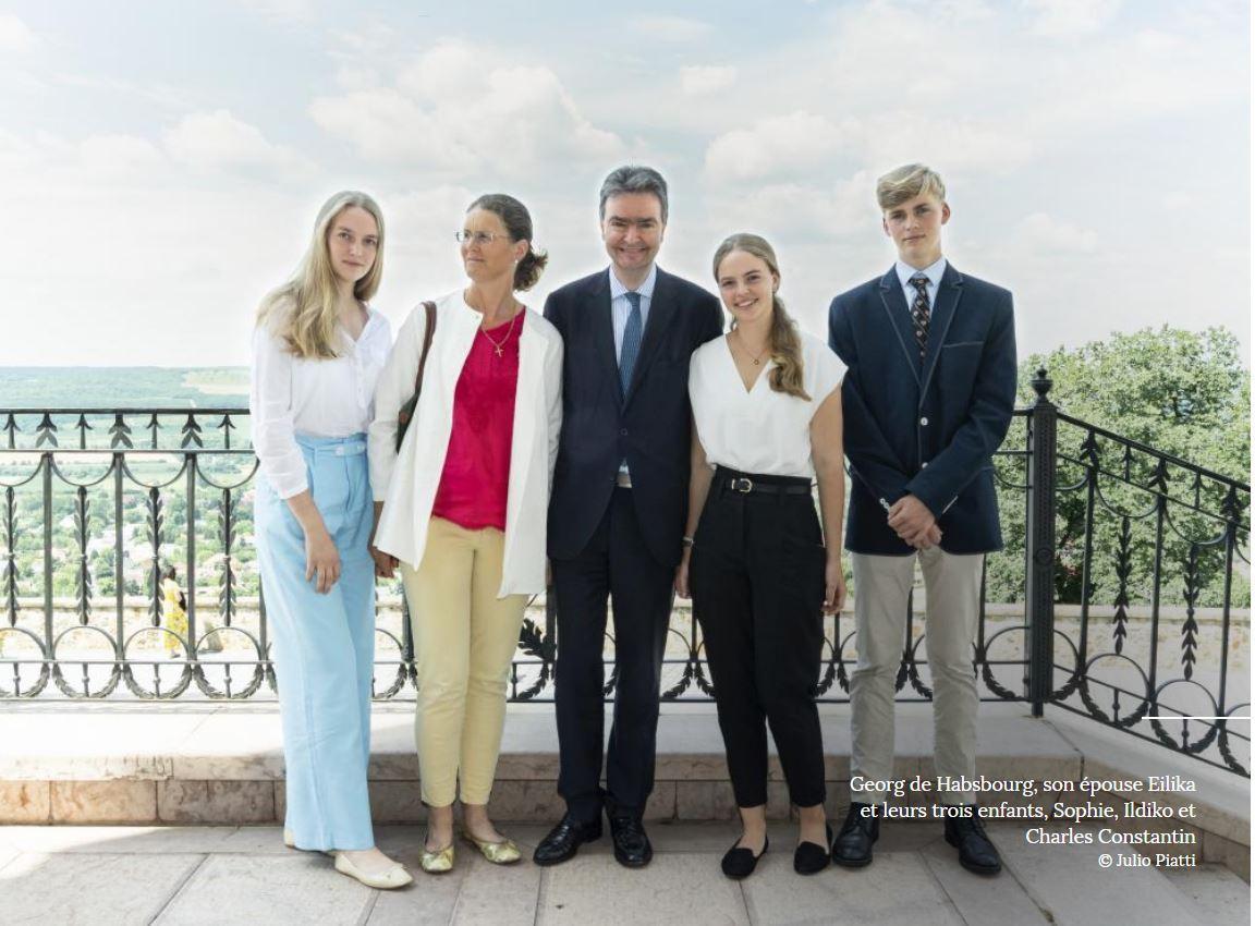 Georg de habsbourg lorraine et sa famille photo point de vue juillet 2021 reportage antoine michelland 1