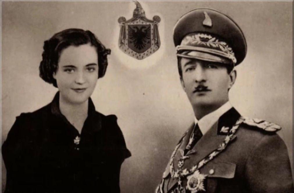 Geraldine apponyi son epoux zog 1er roi albanie