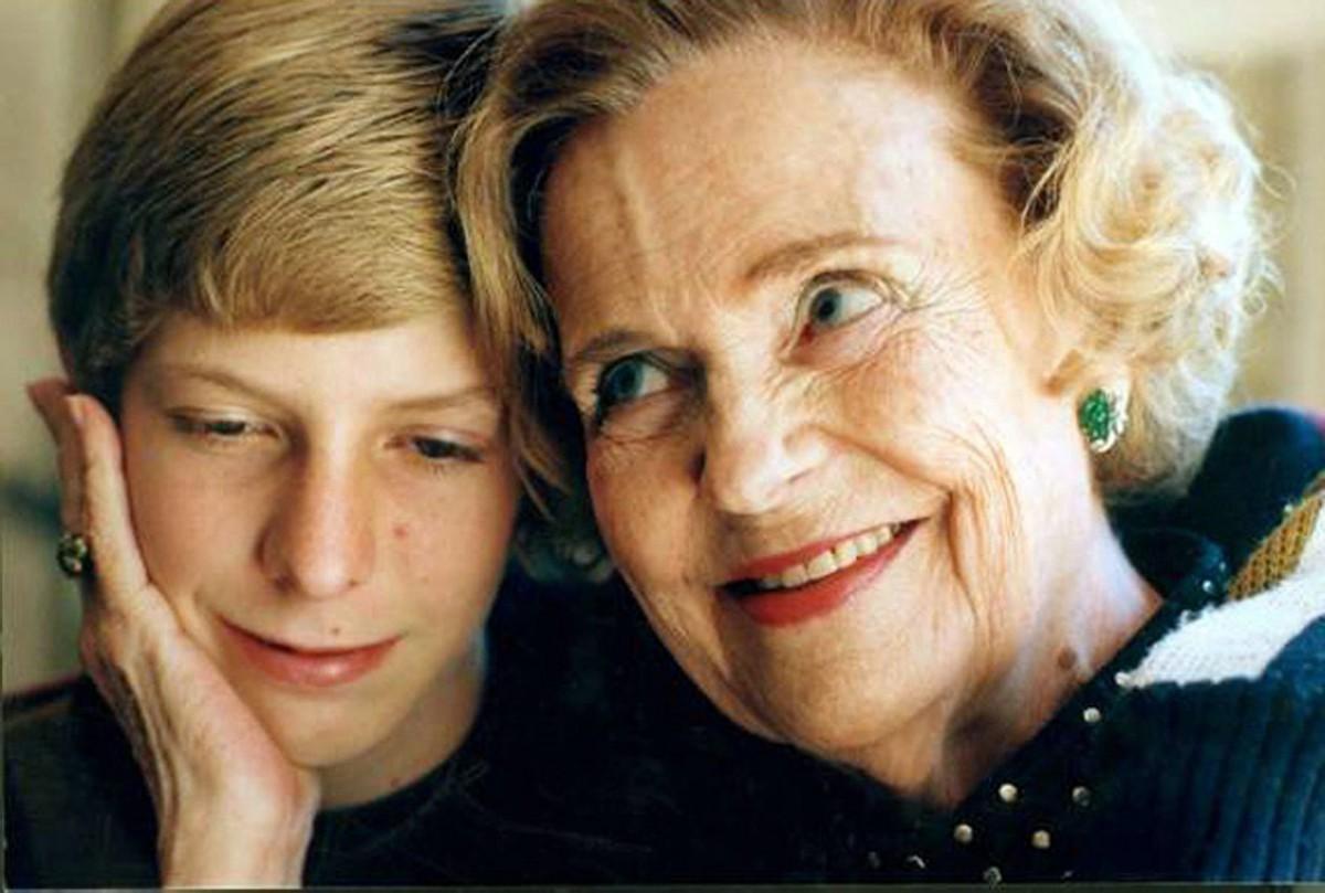 Geraldine et le jeune prince leka ii