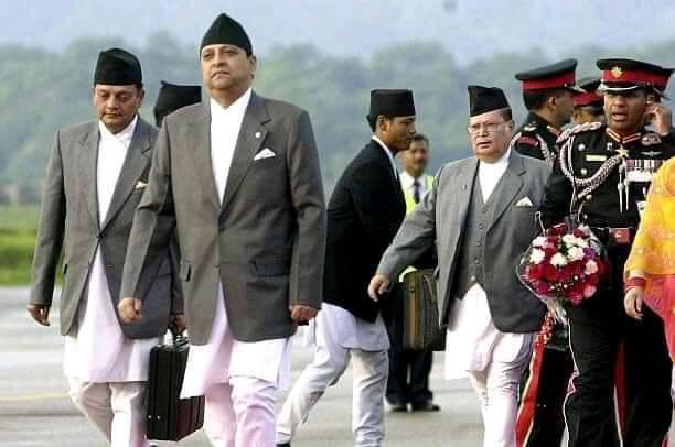 Gyanendra shah du nepal