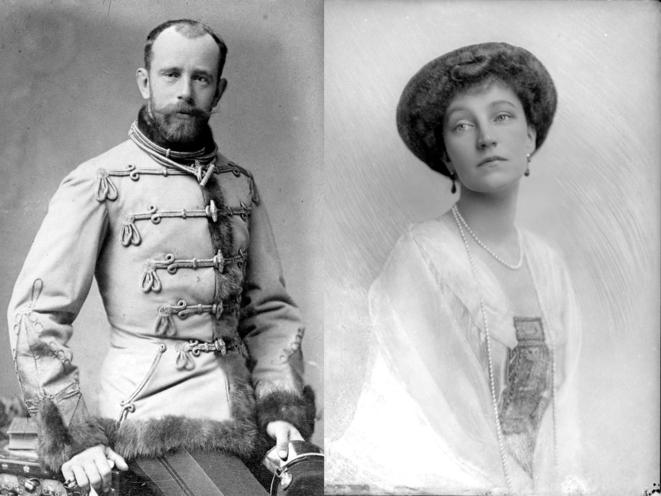 Elizabeth-Marie d'Autriche et Rodolphe de Habsbourg-Lorraine